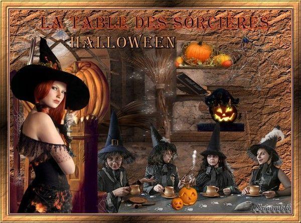 la table des sorcières