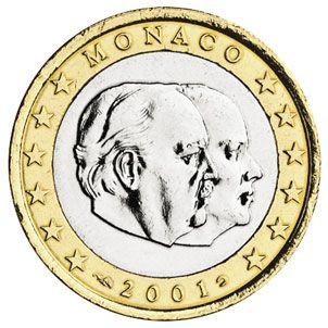euros Monaco 1 euro