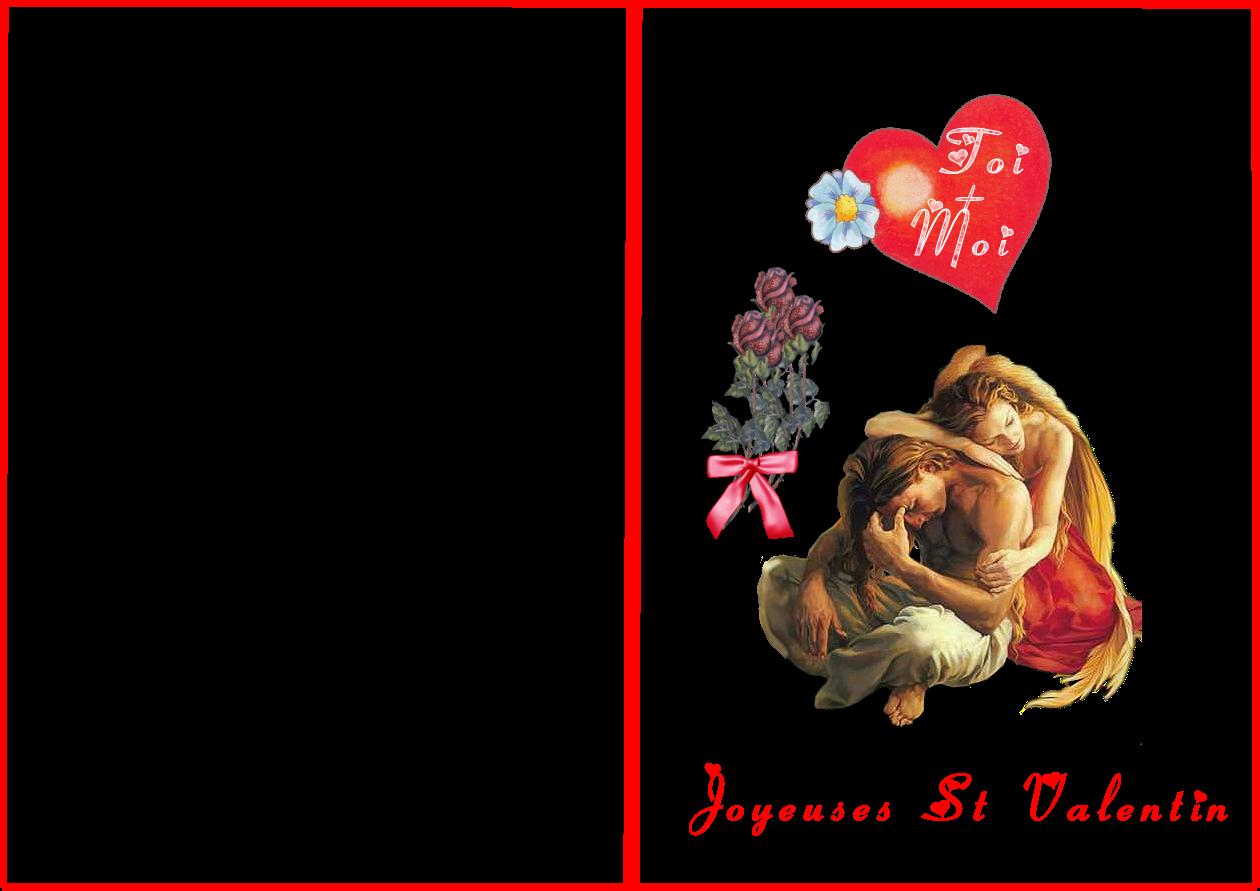 Carte st valentin - Carte st valentin gratuite a imprimer ...