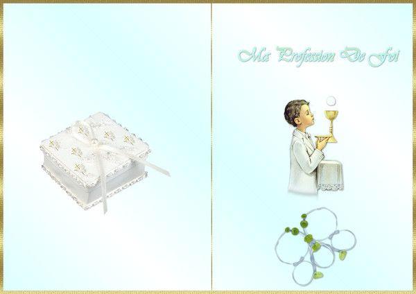 Carte A Imprimmer Communion