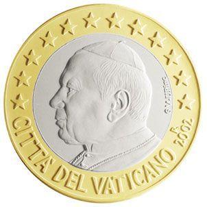euros Le Vatican 1 euro