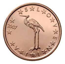 euros Slovénie 1 ct