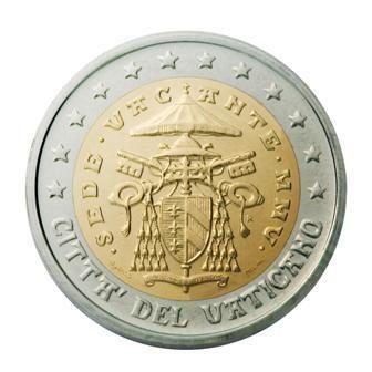 euros Le Vatican 2 euros Sède Vacante