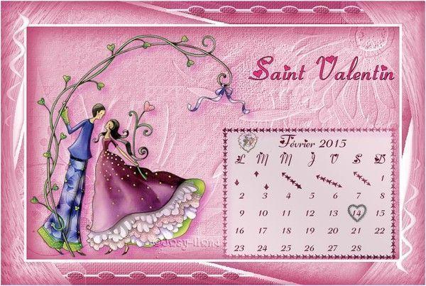 calendrier février 2015