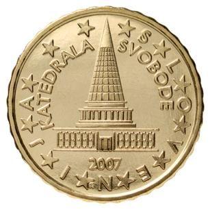euros Slovénie 10cts