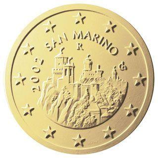 euros Saint Marin 50 cts