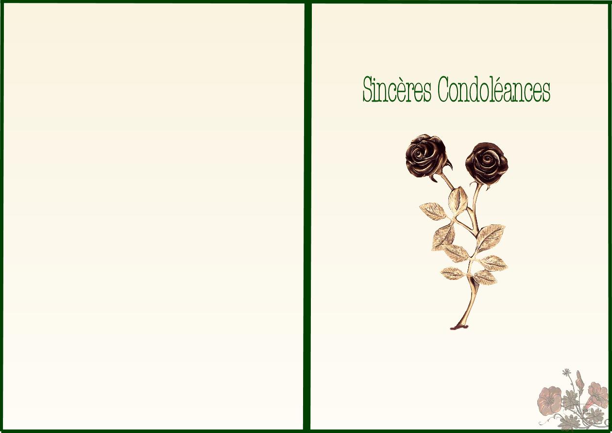 Relativ carte a imprimer condoleances FW04