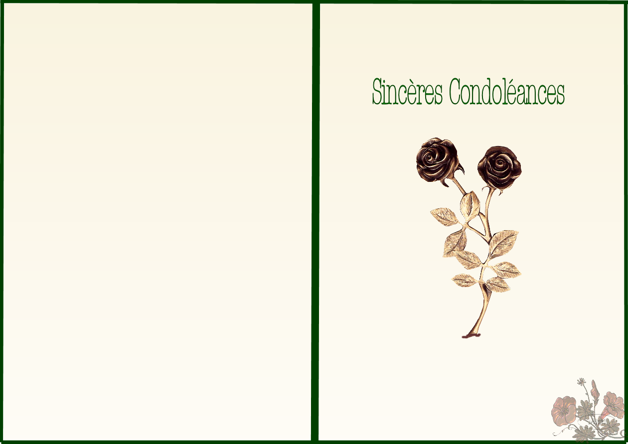 pin carte condoleance gratuite a imprimer condol ances on. Black Bedroom Furniture Sets. Home Design Ideas