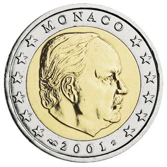 euros Monaco 2 euros