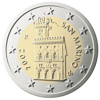 euros Saint Marin 2 euros