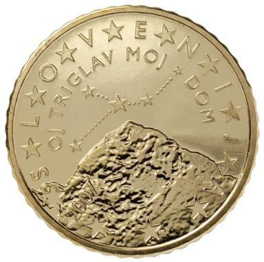 euros Slovénie 50cts