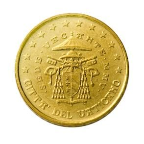 euros Le Vatican 10 cts 20cts 50 cts