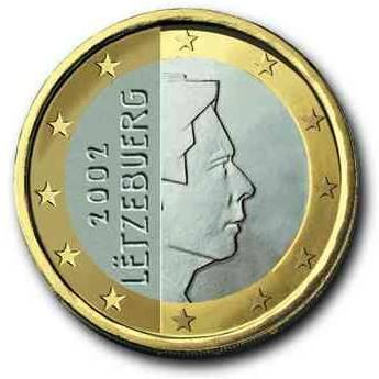 euros Luxembourg 1euro