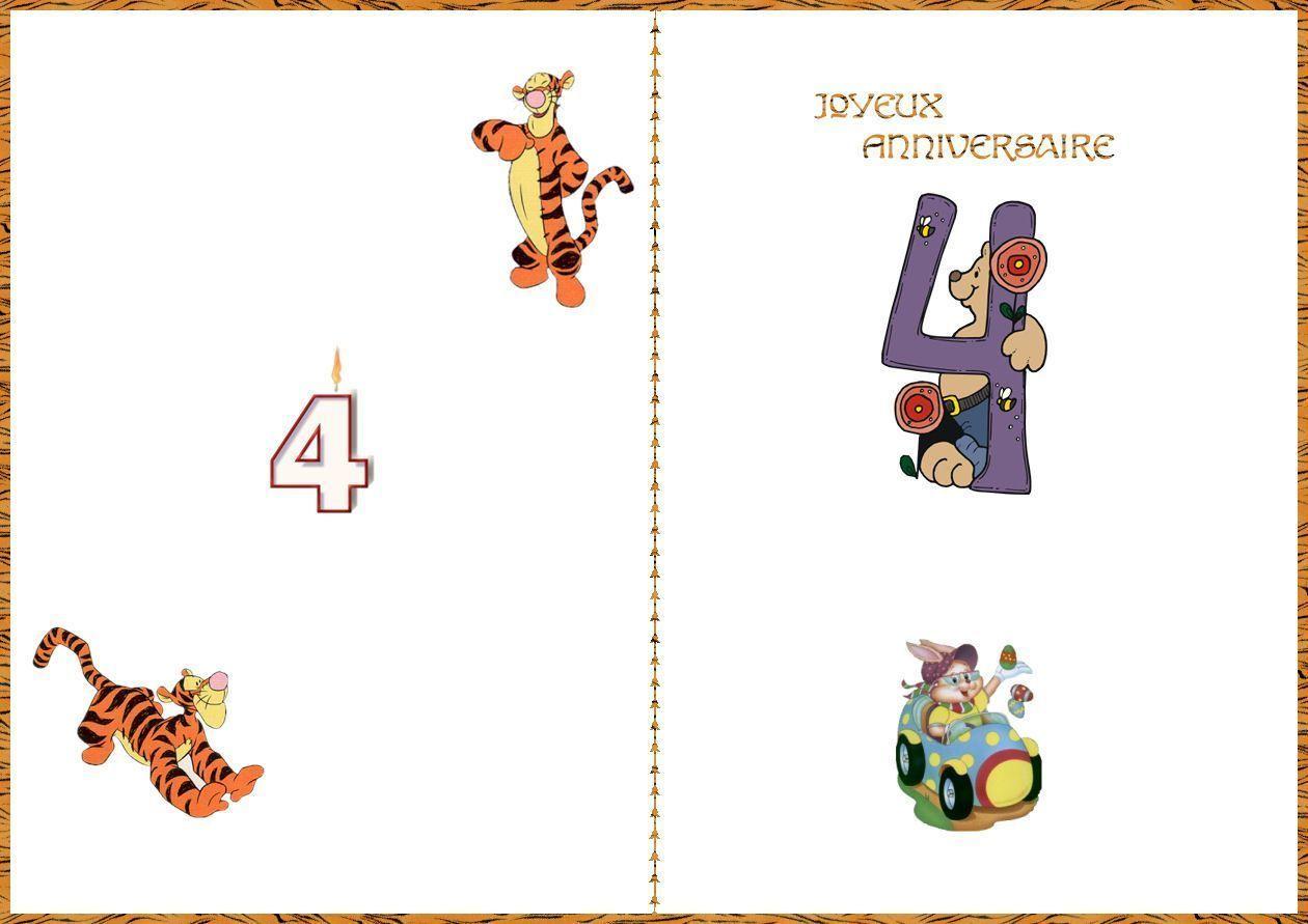 Carte Joyeux Anniversaire A Imprimer