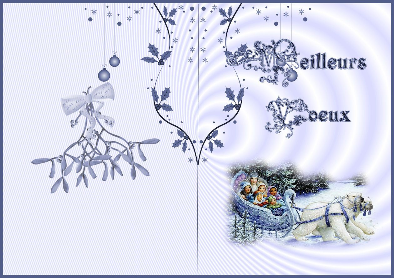 Carte a imprimer noel an - Creation carte de voeux ...