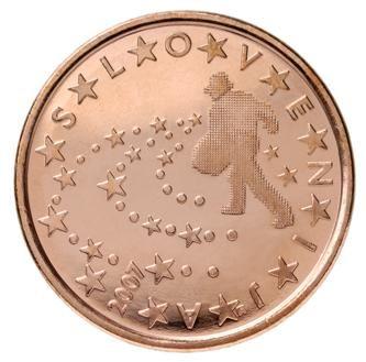 euros Slovénie 5 cts