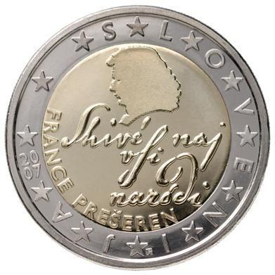 euros Slovénie 2 euros