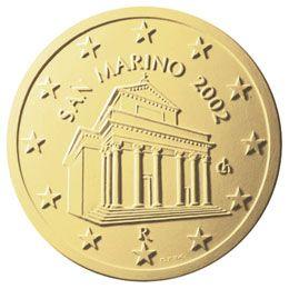 euros Saint Marin 10 cts
