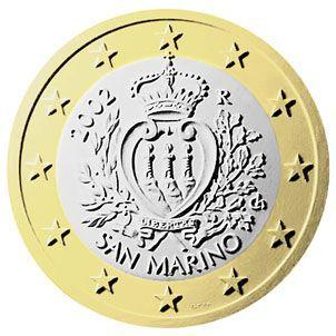 euros Saint Marin 1 euro