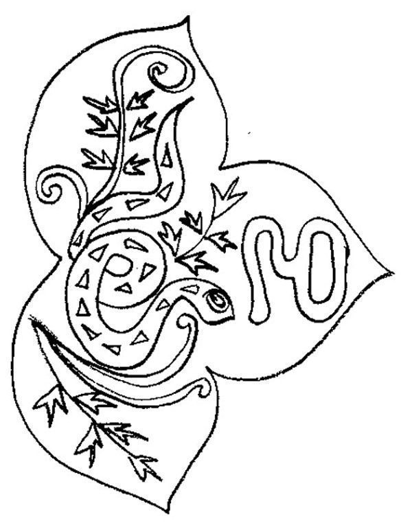Signe du zodiaque - Coloriage chinois ...
