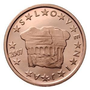 euros Slovénie 2 cts