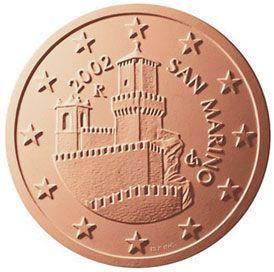 euros Saint Marin 5 cts