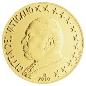 euros Le Vatican 10 cts 20 cts 50 cts