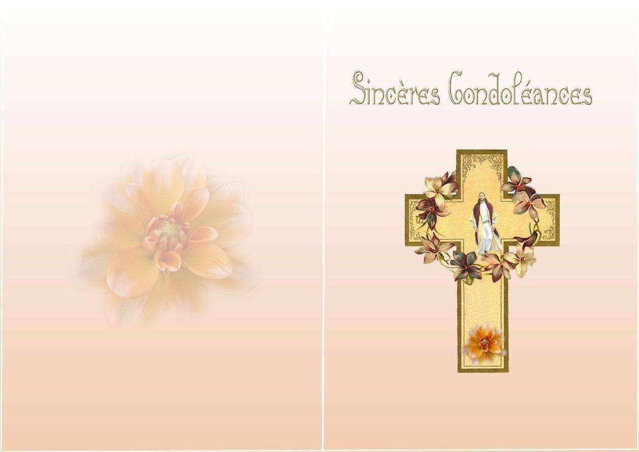 cartes condoléances 2